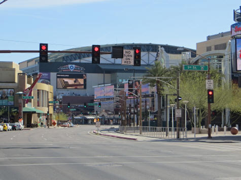 Chase Field in Phoenix Arizona