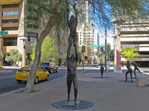 Sculpture in Phoenix Arizona