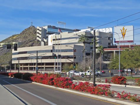Sun Devil Stadium, Tempe Arizona